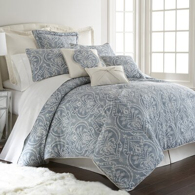 Katherine 4 Piece Comforter Set Size: Full/Queen