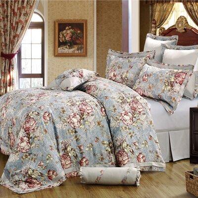 Gwyneth 8 Piece Comforter Set Size: King