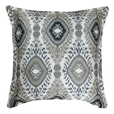 Dharti Decorative Throw Pillow Color: Onyx
