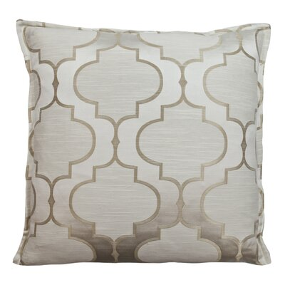 Hutton Decorative Throw Pillow Color: Linen