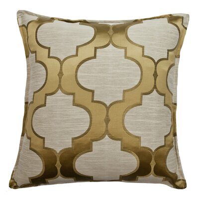 Hutton Decorative Throw Pillow Color: Sunglow