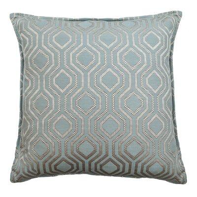 Santana Geometric Decorative Throw Pillow Color: Malibu