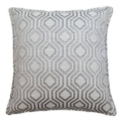 Santana Geometric Decorative Throw Pillow Color: Linen