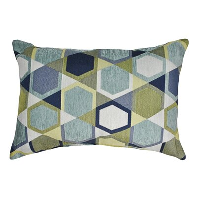 Honeycomb Decorative Boudoir Pillow Color: Spa