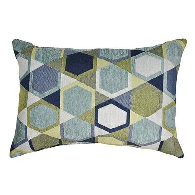 Honeycomb Decorative Boudoir Pillow Color: Spa