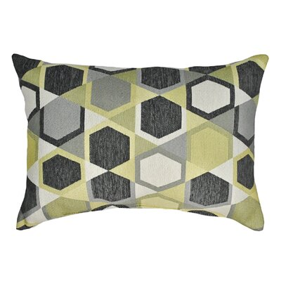 Honeycomb Decorative Boudoir Pillow Color: Lemon