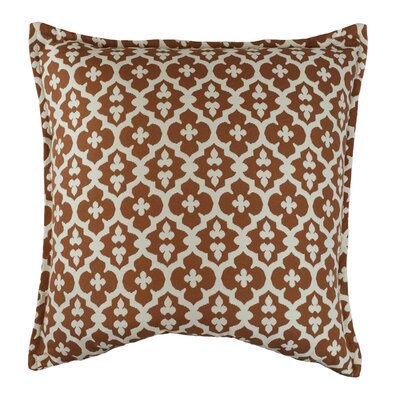 Constantine Decorative Throw Pillow Color: Tangerine