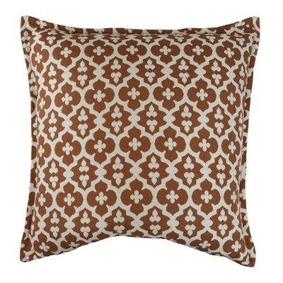 Constantine Decorative Throw Pillow Color: Tangerine
