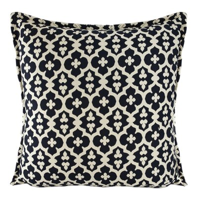 Constantine Decorative Throw Pillow Color: Navy Blue