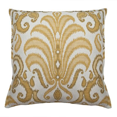 Rustica Decorative Throw Pillow Color: Yellow