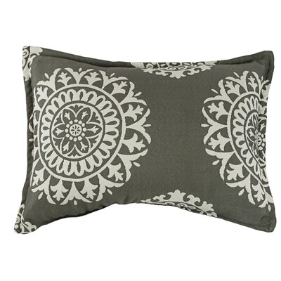 Constantine Decorative Boudoir/Breakfast Pillow Color: Gray