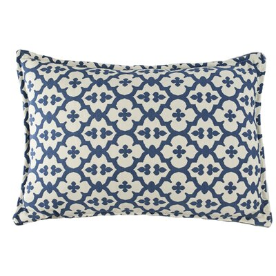 Constantine Decorative Boudoir/Breakfast Pillow Color: Light Blue