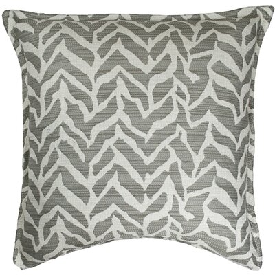 Burke Decorative Throw Pillow Color: Gray