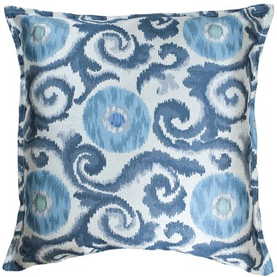 Gajam Decorative Euro Pillow Color: Pool