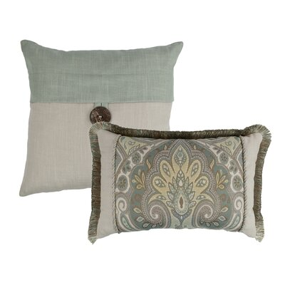 Oasis 2 Piece Decorative Pillow Set