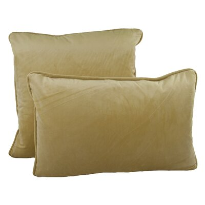 Richmond Combo Pillow Color: Gold