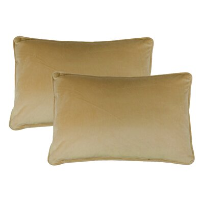 Lumbar Pillow Color: Gold