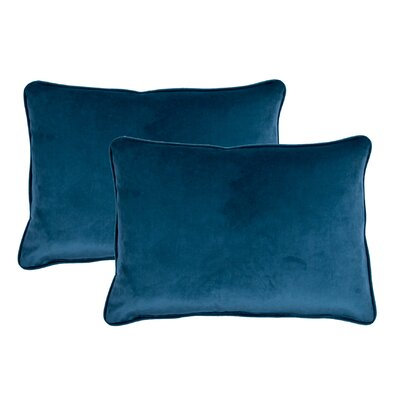 Lumbar Pillow Color: Navy Blue