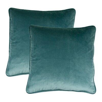 Throw Pillow Color: Lake Blue