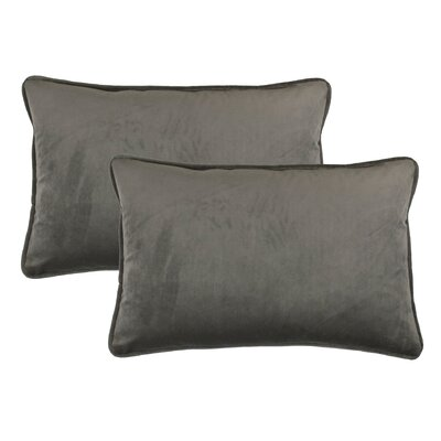 Lumbar Pillow Color: Taupe Gray