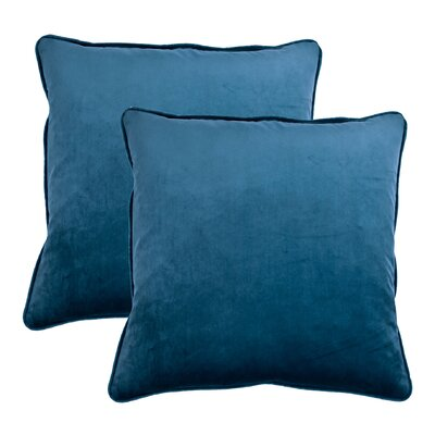 Throw Pillow Color: Navy Blue