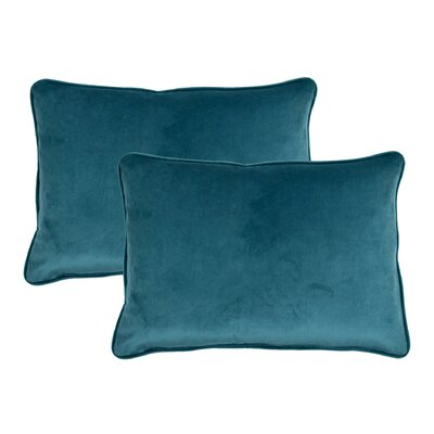 Lumbar Pillow Color: Ocean Blue