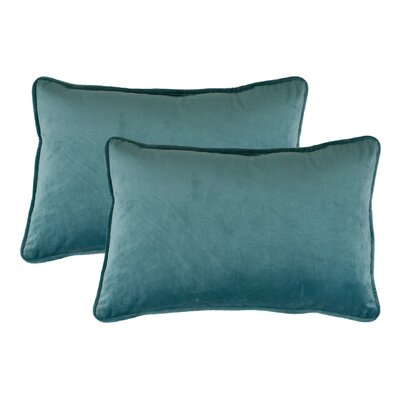 Lumbar Pillow Color: Lake Blue