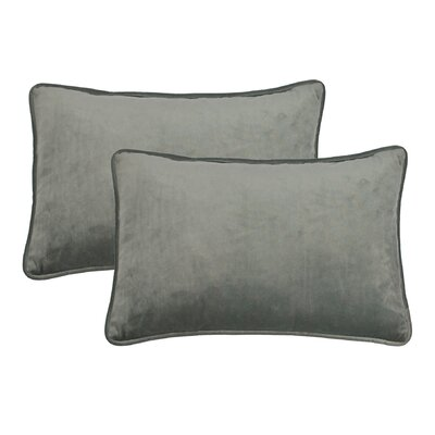 Lumbar Pillow Color: Silver Gray