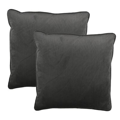 Throw Pillow Color: Taupe Gray