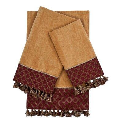 Brenda Embellished 3 Piece Towel Set