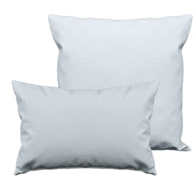 Ostrich 2 Piece Pillow Set Color: Dark Ivory