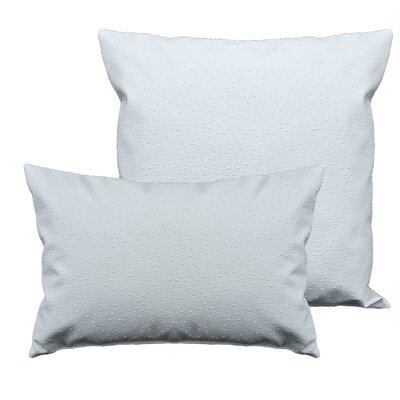 Ostrich 2 Piece Pillow Set Color: Dark Ivory