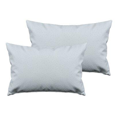 Ostrich Outdoor Boudoir Pillow Color: Dark Ivory