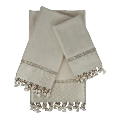 Rochdale 3 Piece Embellished Towel Set