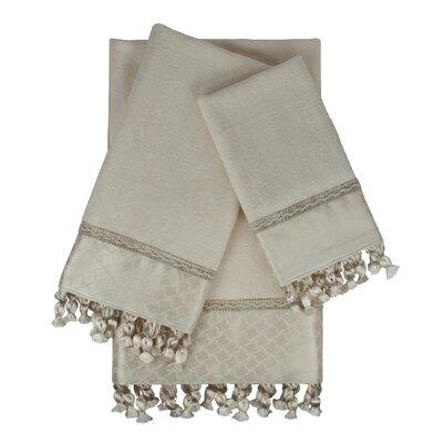 Rochdale 3 Piece Embellished Towel Set