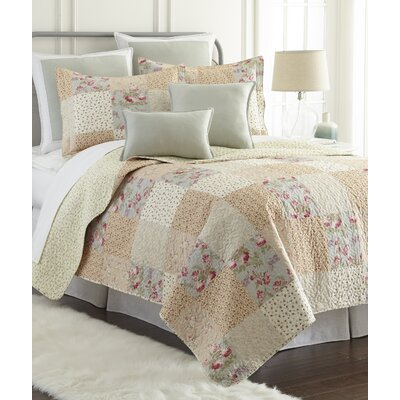 Riverside 3 Piece Reversible Quilt Set Size: Queen