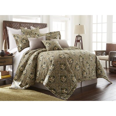 Sanaya 3 Piece Comforter Set Size: King