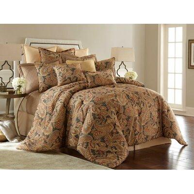 Venetian 4 Piece Comforter Set Size: King