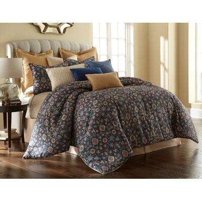 Theresa 4 Piece Comforter Set Size: King