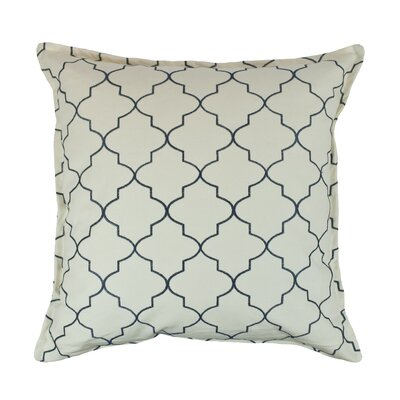 Reversible Decorative Cotton Throw Pillow Color: Light Blue