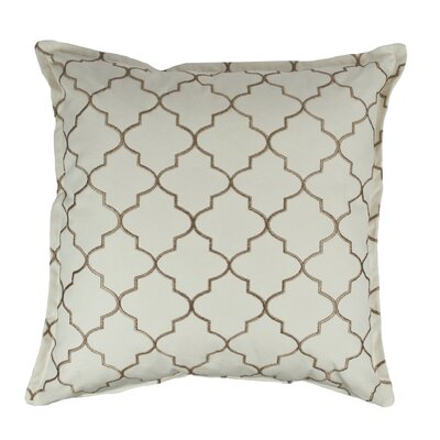 Reversible Decorative Cotton Throw Pillow Color: Dark Gold
