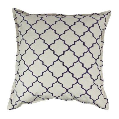 Reversible Decorative Cotton Throw Pillow Color: Purple