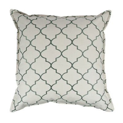 Reversible Decorative Cotton Throw Pillow Color: Green
