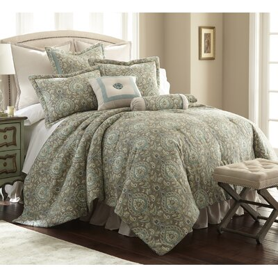 Splendor 4 Piece Comforter Set Size: Queen
