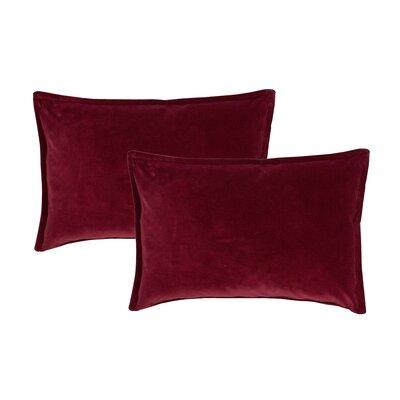 Valerie Boudoir Decorative Lumbar Pillow Color: Red