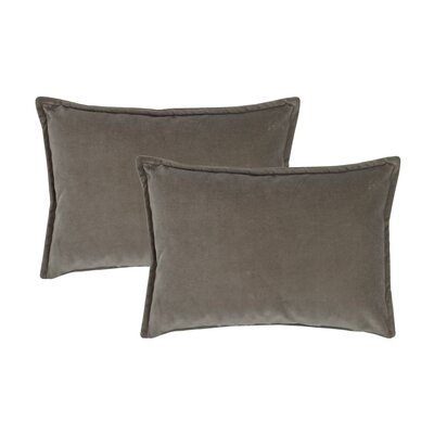 Valerie Boudoir Decorative Lumbar Pillow Color: Gray