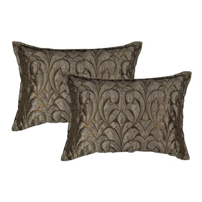 Canyon Embossed Luxury Decorative Lumbar Pillow