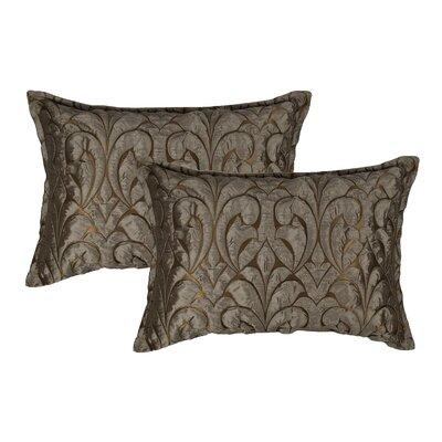 Canyon Embossed Luxury Decorative Lumbar Pillow
