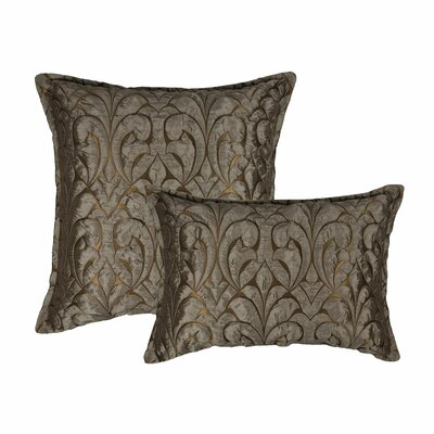 Canyon Embossed Luxury Combo Decorative 2 Piece Pillow Set