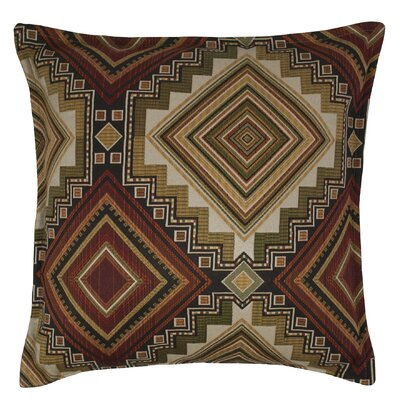 Aliso Creek Throw Pillow Color: Garnet